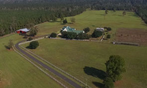 Self-Sufficient 102 Acre Pineywoods Ranch